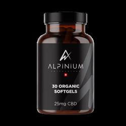 Gélules CBD  25 mg- Alpinium